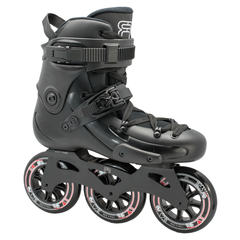 FR Skates - FR3 310 Black - triračiai freeskate riedučiai