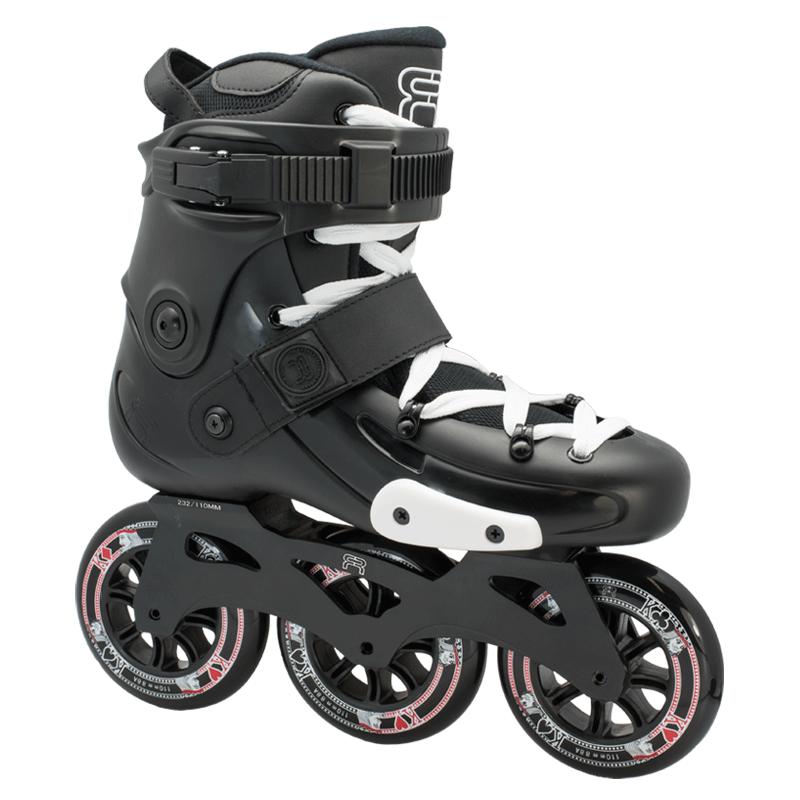 FR Skates - FRX 310 Black - triračiai freeskate riedučiai