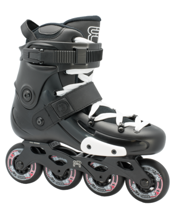FR Skates FRX 80 black - freeskate riedučiai
