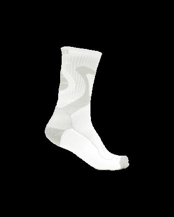 FR Skates - Nano Socks Pink - baltos-pilkos kojinės riedučiams