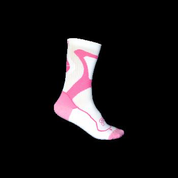 FR Skates - Nano Socks Pink - baltos-rožinės kojinės riedučiams