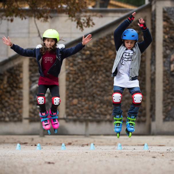 FR Skates - EZX - vaikiški freeskate riedučiai - 2