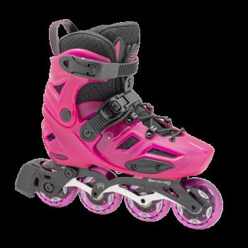 FR Skates - AXS Pink – vaikiški freeskate riedučiai