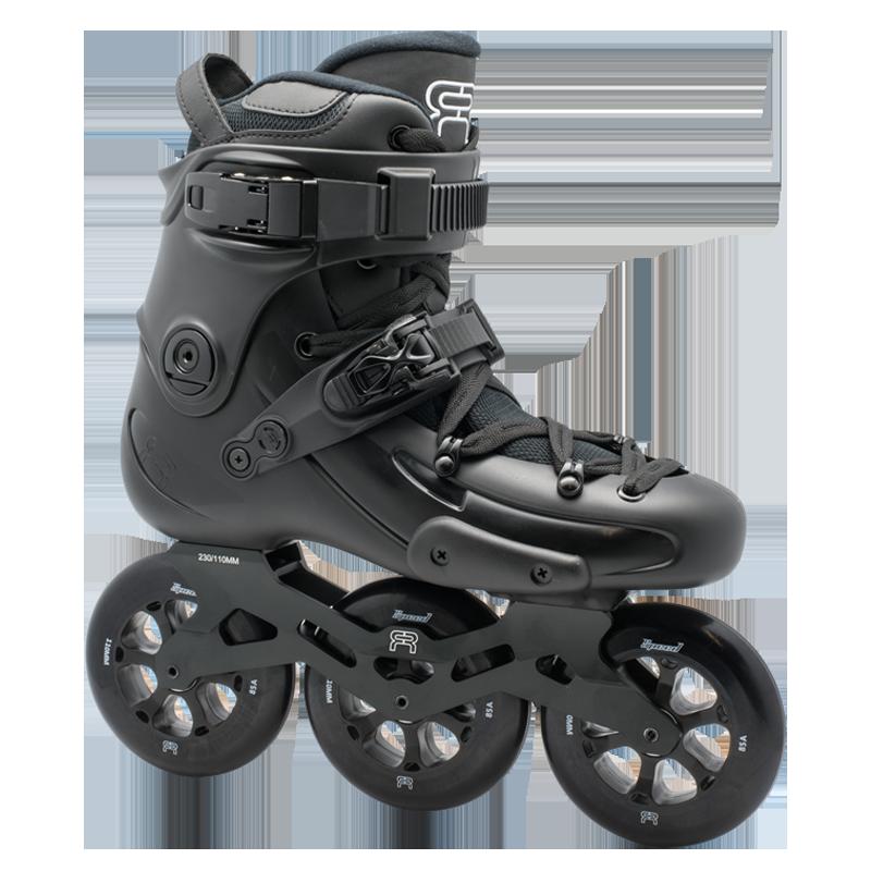 FR Skates - FR1 310 Black - triračiai freeskate riedučiai