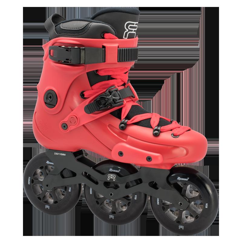 FR Skates - FR1 310 Red - triračiai freeskate riedučiai