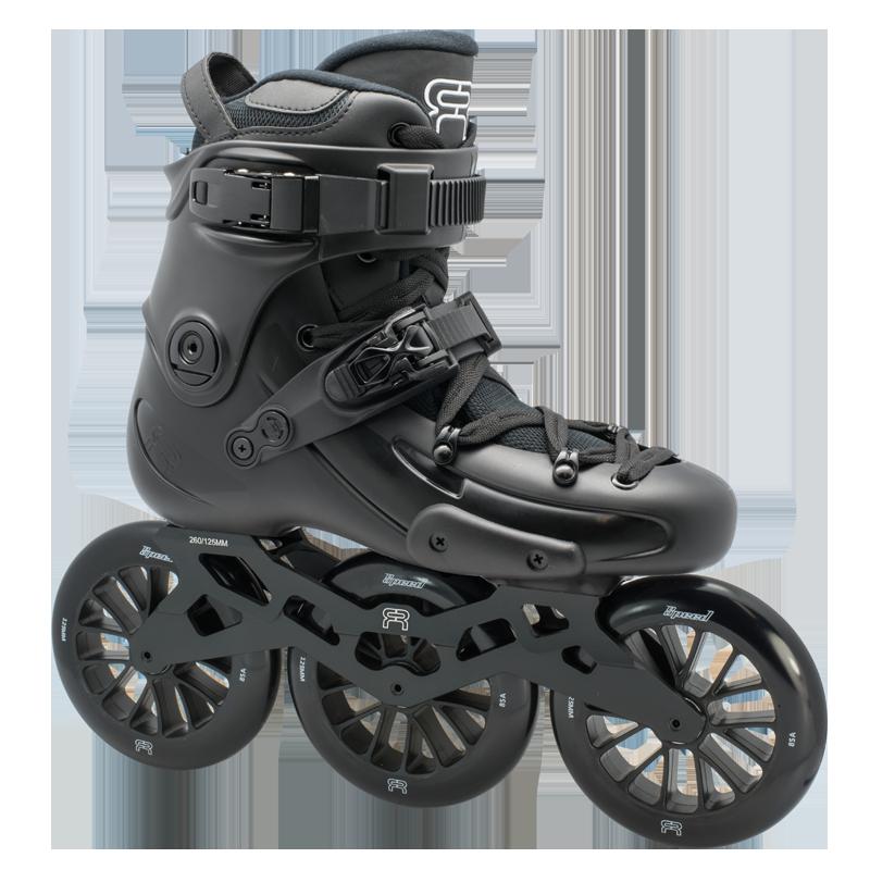 FR Skates - FR1 325 Black - triračiai freeskate riedučiai