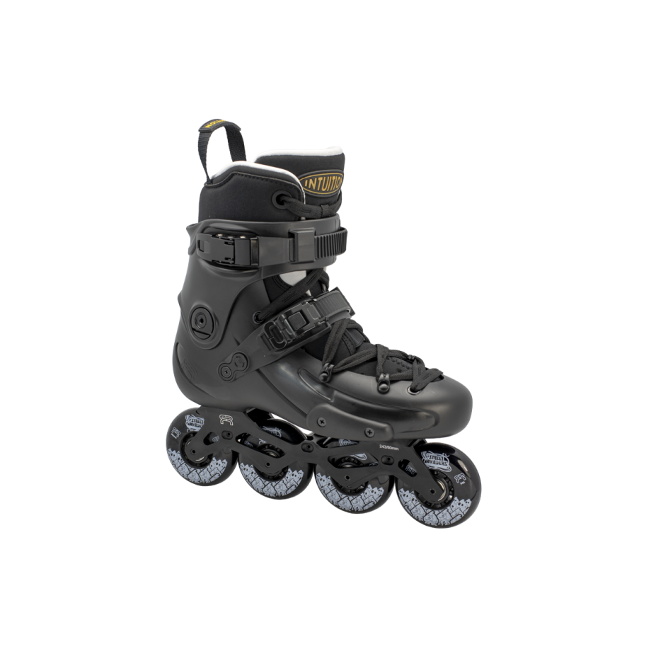 FR Skates - FR1 80 Deluxe Intuition Black - freeskate riedučiai