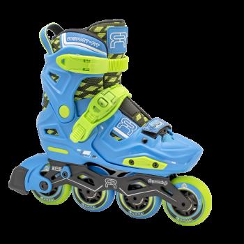 FR Skates - EZX Blue - vaikiški freeskate riedučiai